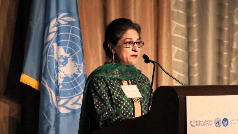Asma Jahangir. Credit: YouTube