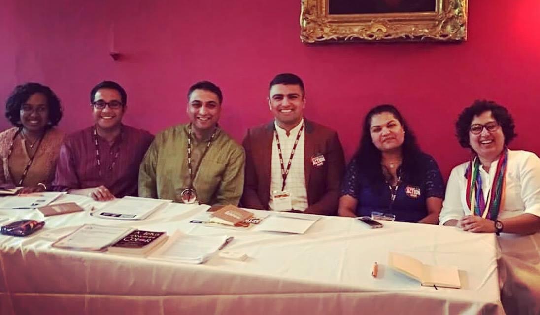 Desi Rainbow parents educational presentations in Washington DC in 2017. Credit: Aruna Rao