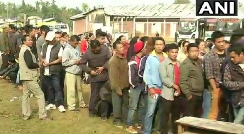 Nagaland Assembly Elections  One Injured in Blast at Polling Station in Tizit