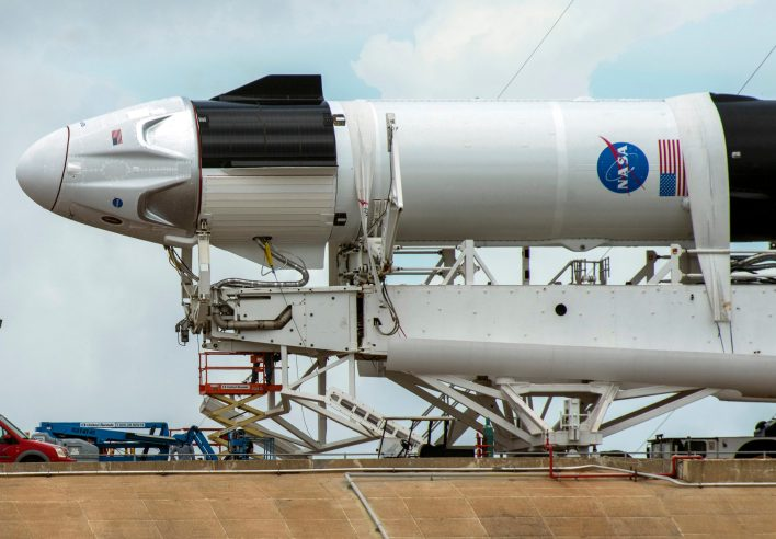 weather postpones spacex's first astronaut launch, next try on may 31 - the wire science