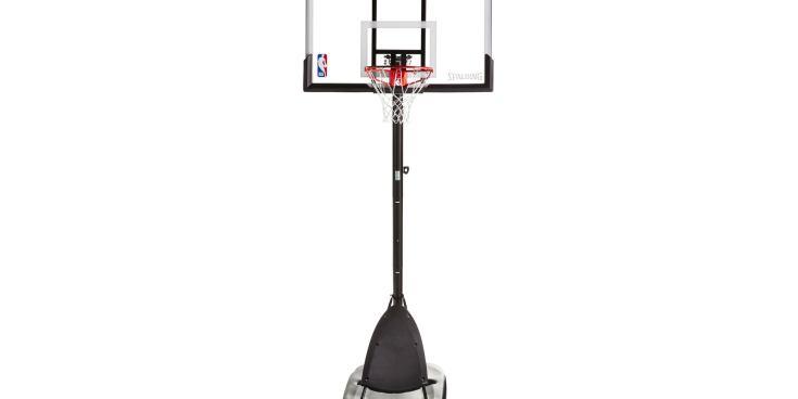 Spalding NBA 54″ Portable Angled Basketball Hoop