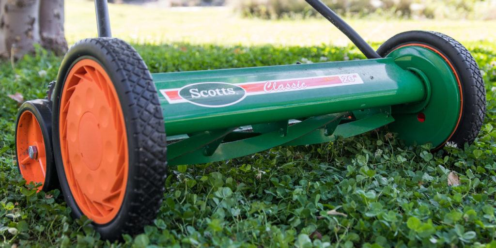 the best reel mower