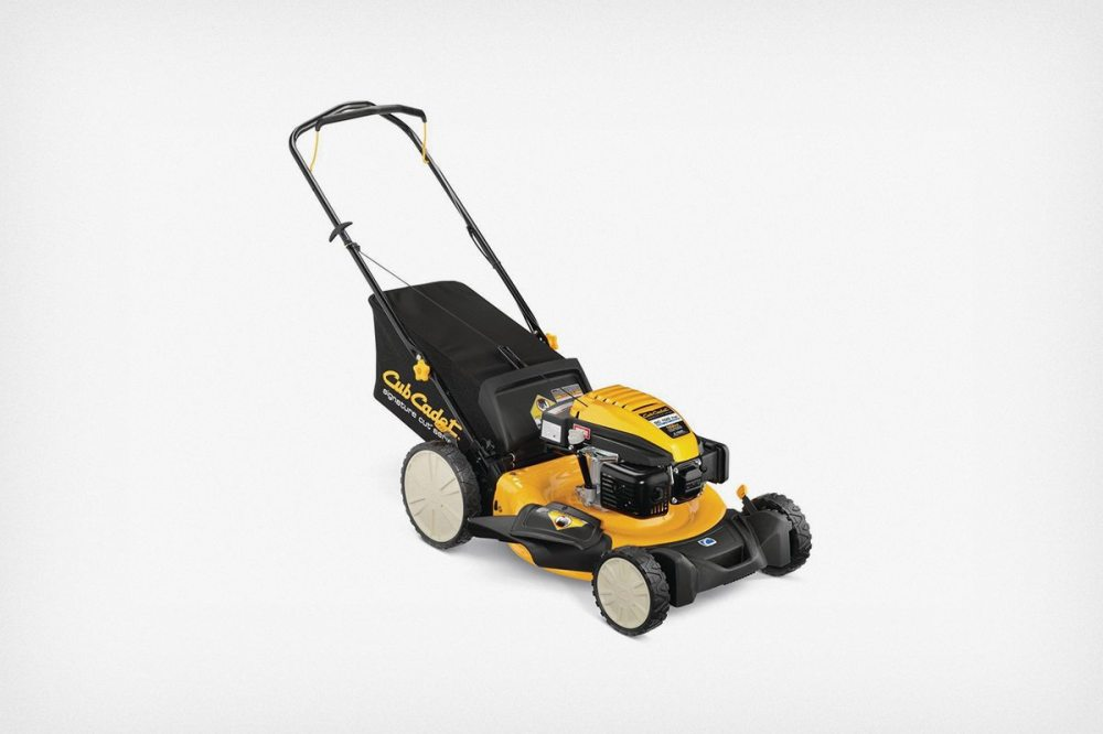 medium resolution of a low priced gas push mower cub cadet sc100 hw