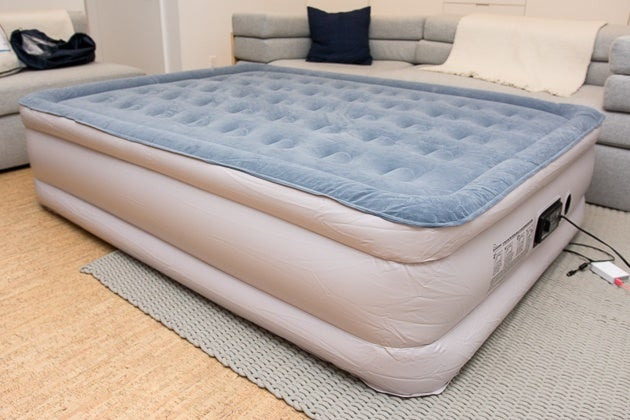 The Soundasleep Dream Series Mattress Inflates Quickly Is Tall Enough To Easily Climb Onto