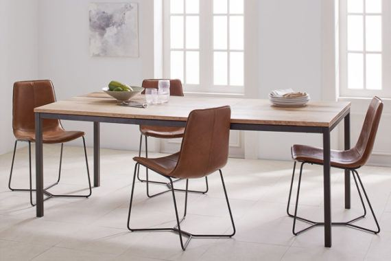 dining table with metal chairs light blue accent chair how to buy a or kitchen and ones we like for under 1 000 reviews by wirecutter new york times company