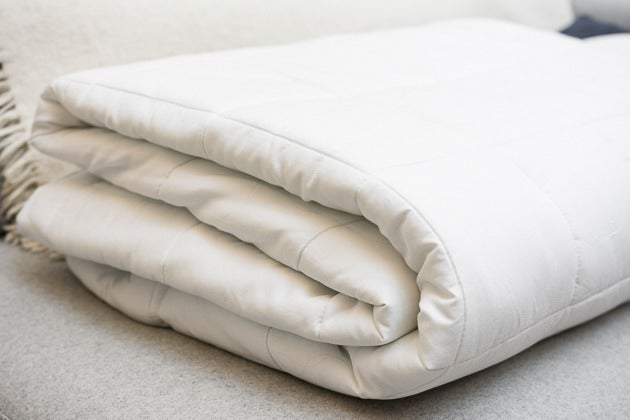 The Sunbeam Premium Quilted Heated Mattress Pad Was Most Cushioned We Tried And