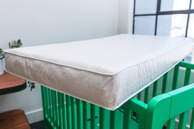 Our Budget Pick For Best Crib Mattress The Sealy Soybean Foam Core