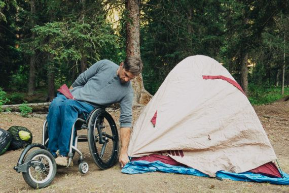 The Best CarCamping Gear for Wheelchair Users Reviews by