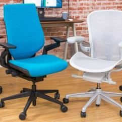 Desk Chair Leans Forward Red Barber Chairs The Best Office For 2018 Reviews By Wirecutter A New York