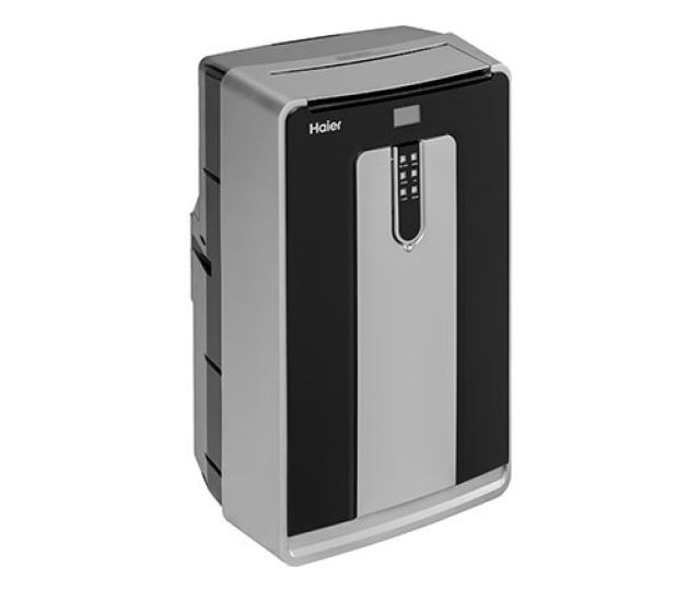 A Product Photo Of The Haier Hpnd14xct Portable Air Conditioner