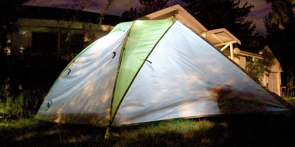 the backpacking tent we