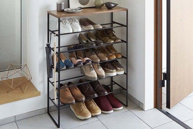 how to declutter your small entryway