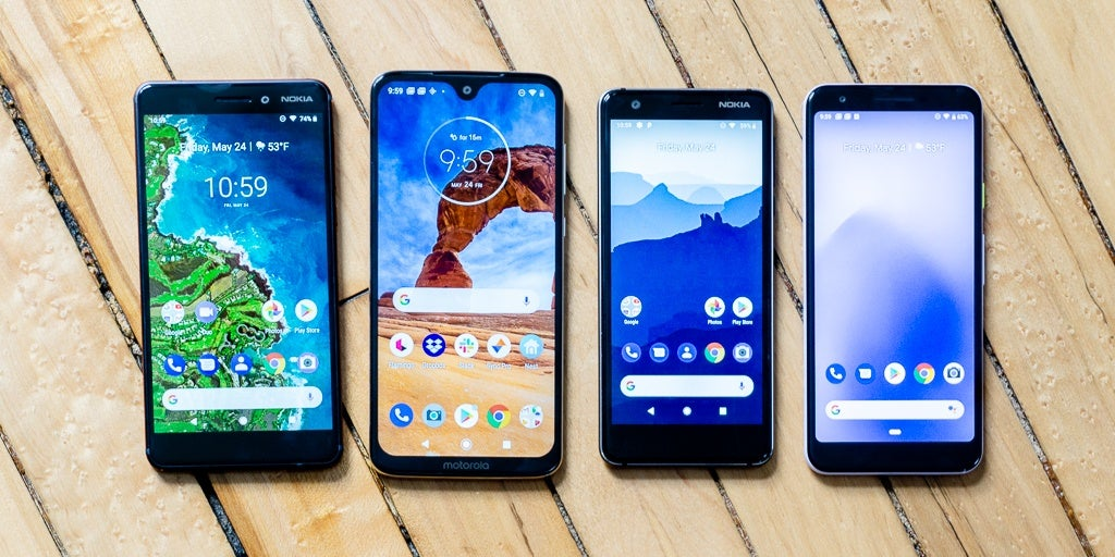 the best budget android