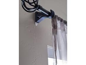 curtain rod holder thingiverse