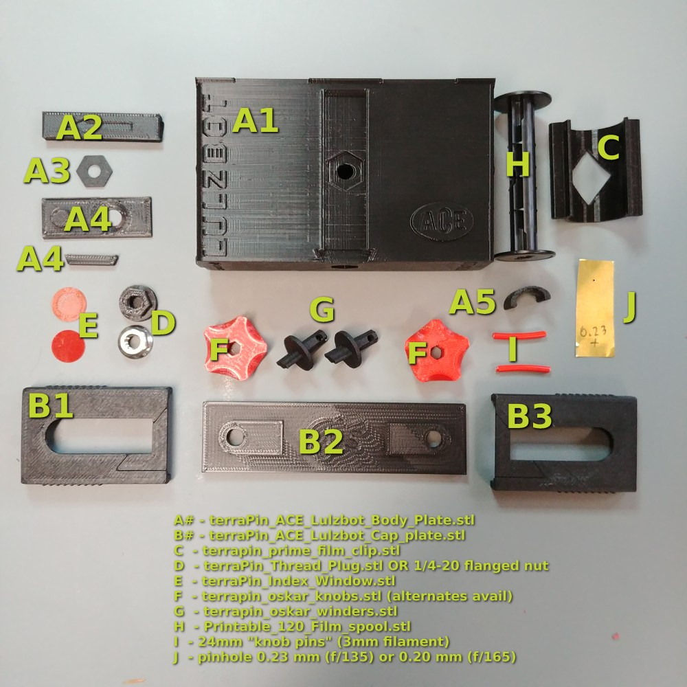 medium resolution of terrapin ace pinhole camera lulzbot edition parts diagram