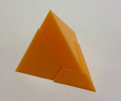 Tetrahedron Triangular Pyramid Puzzle by lgbu  Thingiverse