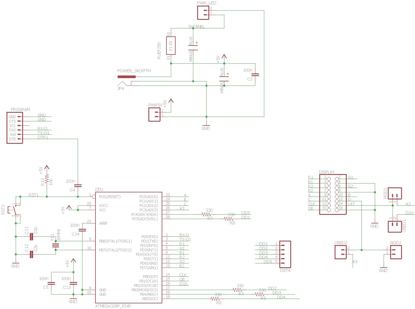 5mm rgb led wiring