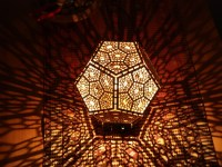 Dodecahedron Shadow Lamp by michael3 - Thingiverse