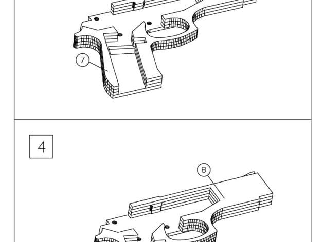 Rubber Band Gun Patterns