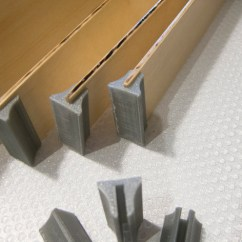 How To Design A Kitchen Copper Sinks Drawer Divider Bracket For 3.4mm Baltic Birch Strips By ...