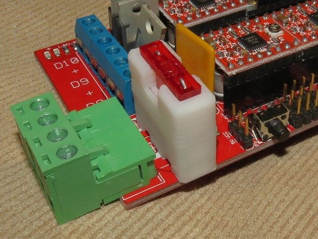 Fuse Fuse Box Car Fuse Holder For Pcb Mounting By Enif Thingiverse