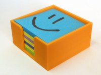 Post-it Note Holder by unknowndomain - Thingiverse