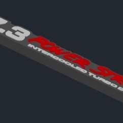 7 3 Powerstroke Earth S Atmosphere Layers Diagram 3d Emblem By Engineerdeere Thingiverse