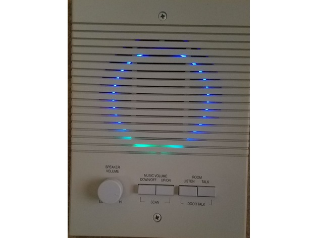 Amazon Echo Dot 2nd gen MS Intercom Mount by nmehta