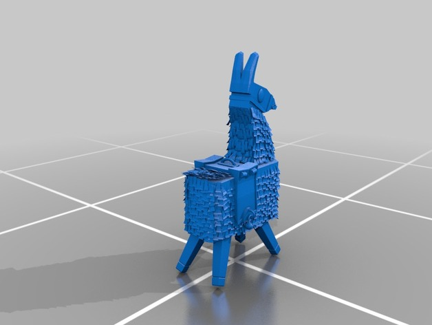 Llama Fortnite By Quinventor Thingiverse