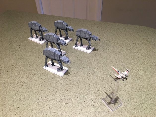 Star Wars X Wing AT AT Conversion Kit By Jabberwock Thingiverse