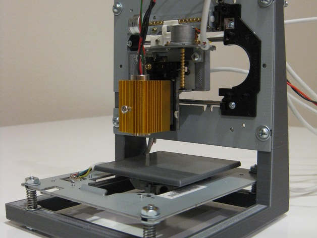 Mini Laser Cutter Engraver By PawArmy Thingiverse