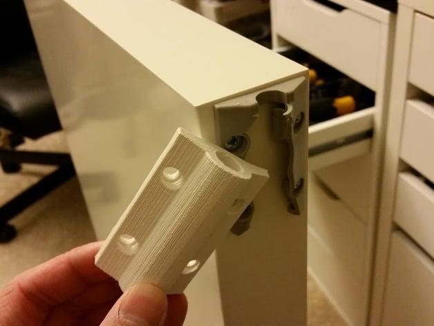 IKEA MALM Desk slide mechanism by kwaaaa  Thingiverse