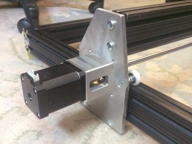 laser engraver motor mount