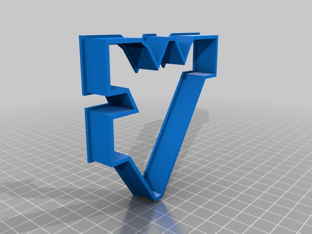WVU Cookie Cutter Cookie Cutter by drPete  Thingiverse