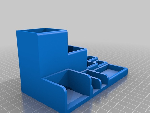 Sorting BoxDesk Tidy by wolfchild  Thingiverse