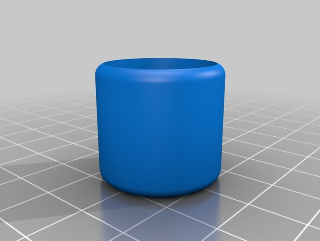 folding chair leg caps bed argos co uk cap by kreskin thingiverse mar 11 2018 thingiview