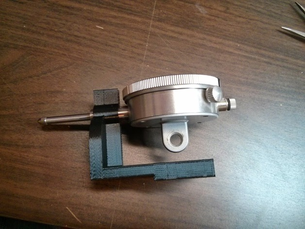 Makergear M2 Dial Indicator Mount by mattrsch  Thingiverse