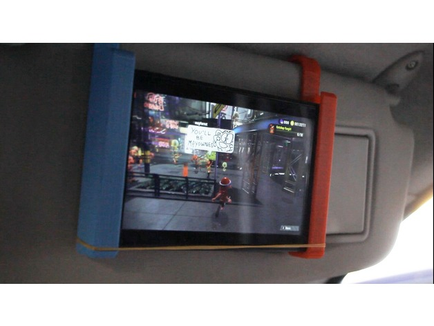 Nintendo Switch Car Mount By Maxx1985 Thingiverse