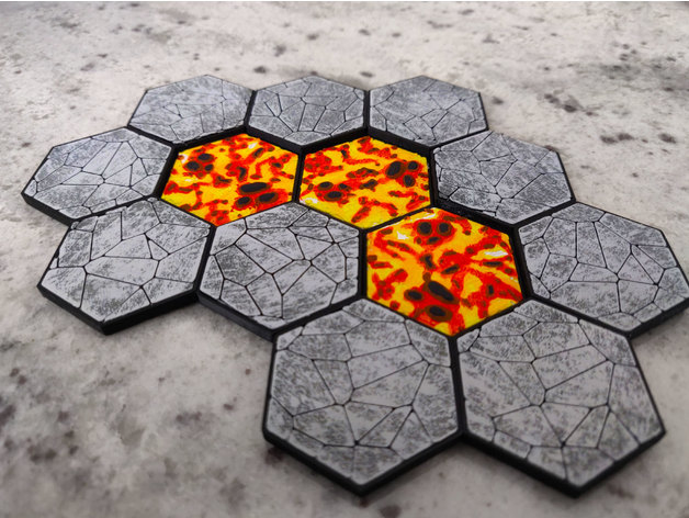 maghex tiles for gloomhaven by xevin