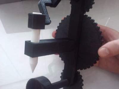 3D printed sewing machine