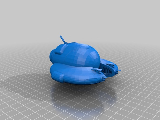 seamoth from subnautica 3d