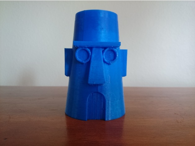 Squidwards House Cup by reno77  Thingiverse