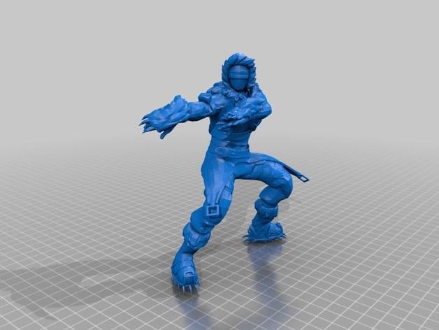 Zenith Skin Fortnite Model by turbomesh  Thingiverse