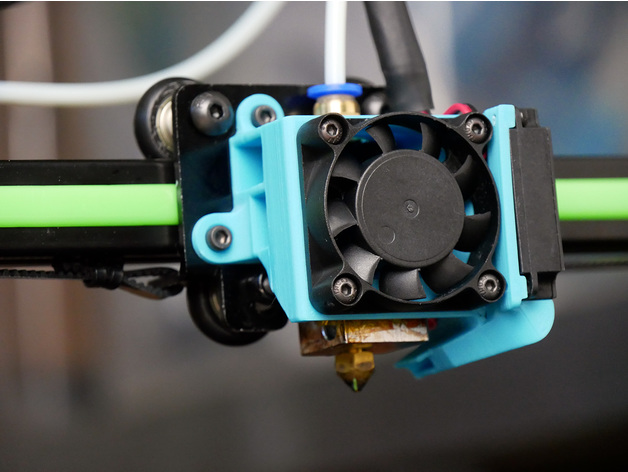 Anet E10 Improved Fan Shroud By CNCKitchen Thingiverse