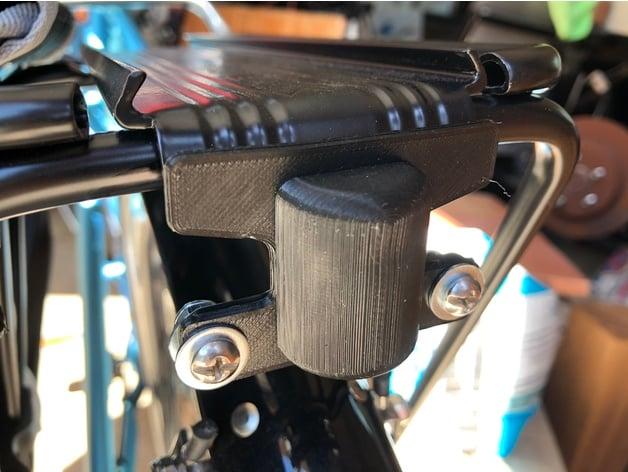 topeak bike rack light adapter by