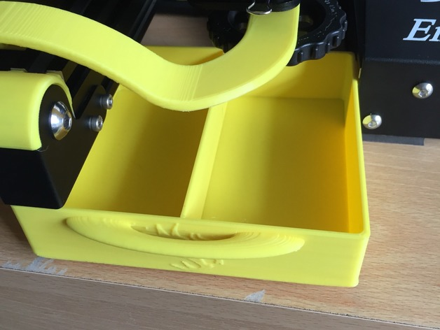 Ender 3 Tool Tray With Handle By Kickasskingy
