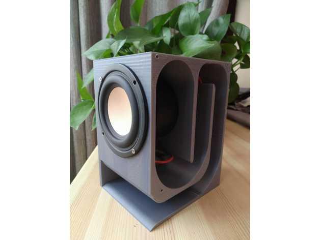 HIFI Maze Speaker audio box by iiime  Thingiverse