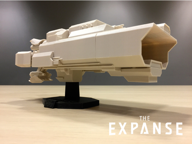 The Expanse The Canterbury V20 By SYFY Thingiverse