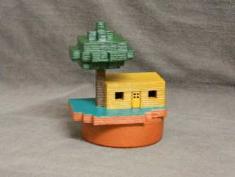Minecraft Small House by adam3i Thingiverse