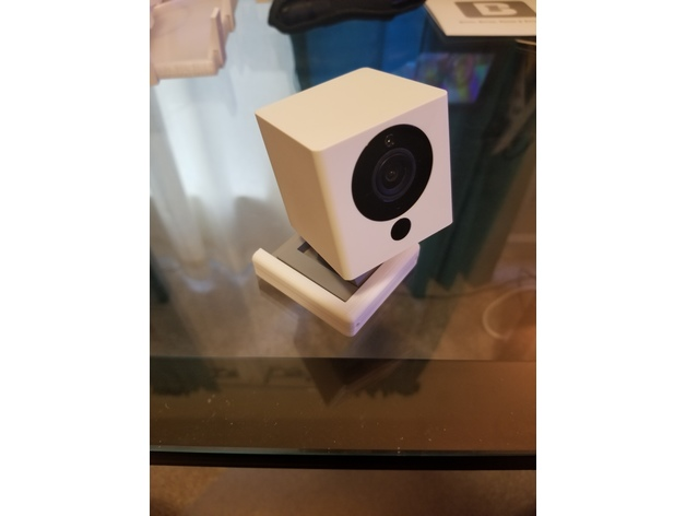 Wyze Cam V2 Mounting Kit by bamarayne  Thingiverse